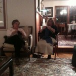 The knitting group, Poughkeepsie