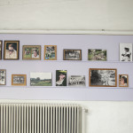 Installation of archive photographs by Jane Winter and Michelle Koals. 1980 - 1999.