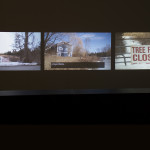 Three channel video installation showing video material from 1985 - 2014. Edited in 2015.